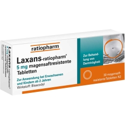 Laxans-ratiopharm® Tabletten
