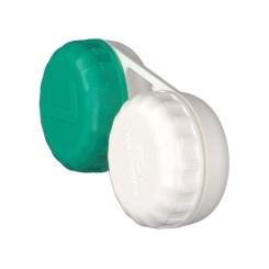 Lenscare Aufbewahrungsbehälter flach 2 Kammern