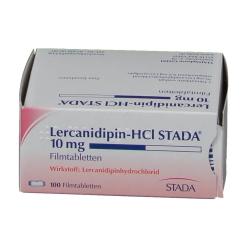 Lercanidipin HCI Stada 10 mg