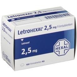 LETROHEXAL 2,5 mg