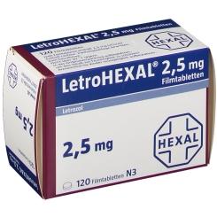 LETROHEXAL 2,5 mg Filmtabletten