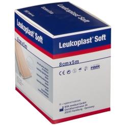 Leukoplast® Soft Pflaster 8 cm x 5 m Rolle