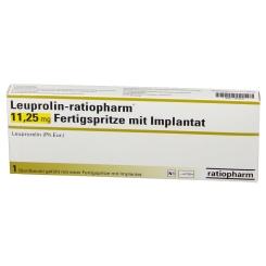LEUPROLIN-ratiopharm 11,25 mg Fertigspr.m.Implant.