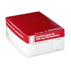 LEVETIRACETAM AL 750 mg Filmtabletten