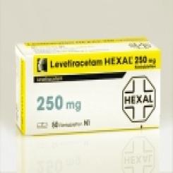 LEVETIRACETAM HEXAL 250 mg Filmtabletten