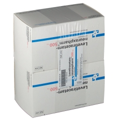 LEVETIRACETAM-NEURAX 500MG
