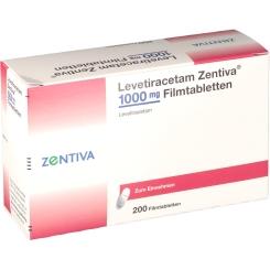 LEVETIRACETAM Zentiva 1000 mg