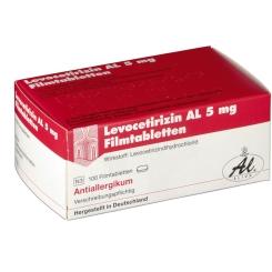LEVOCETIRIZIN AL 5 mg