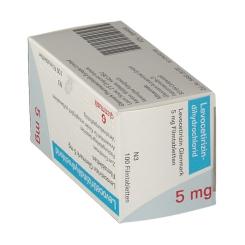 LEVOCETIRIZIN Glenmark 5 mg Filmtabletten