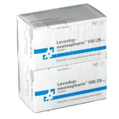 LEVODOP neuraxpharm 100/25 mg Tabletten