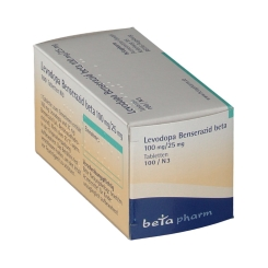 LEVODOPA Benserazid beta100mg/25mg Tabletten