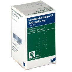 LEVODOPA/Carbidopa-CT 100 mg/25 mg Tabletten