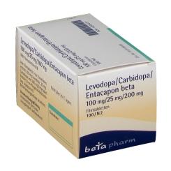 LEVODOPA/Carbidopa/Entacapon beta 100/25/200