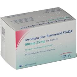 LEVODOPA plus Benserazid STADA 100 mg/25 mg Hartk.