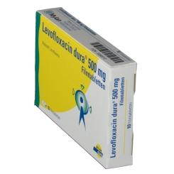 LEVOFLOXACIN dura 500 mg Filmtabletten