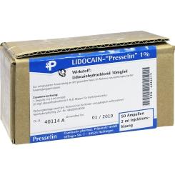 Lidocain-Presselin 1%