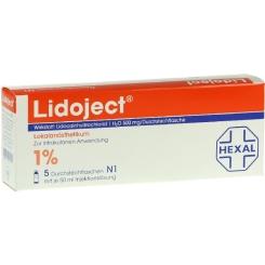 Lidoject Stechampullen