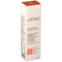 LIERAC Sunific unsichtbare Creme LSF 50+