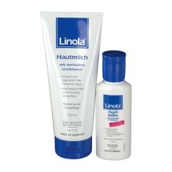 Linola® Hautmilch + Dusch und Wasch-Set