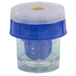 Linsen-Waschmaschine Blau
