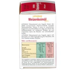 LIPIGRAN Weizenkeimöl plus Kapseln Dr. Grandel