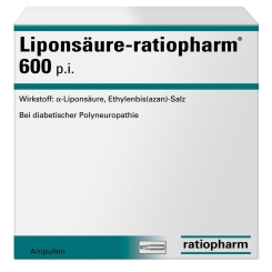 Liponsäure-ratiopharm® 600 p.i. Ampullen