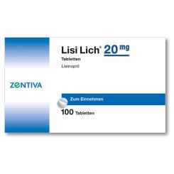 Lisilich 20 mg Tabl.