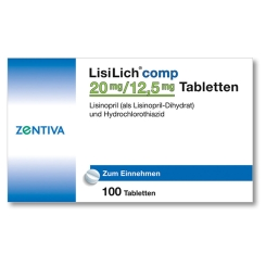 Lisilich comp. 20 mg/12,5 mg Tabletten