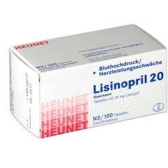 LISINOPRIL 20 Heumann Tabl.Heunet