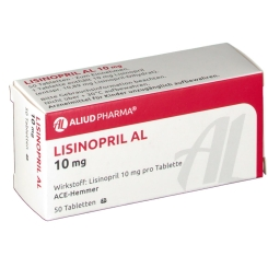 Lisinopril Al 10 mg Tabletten