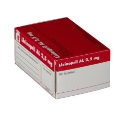 Lisinopril Al 2,5 mg Tabletten
