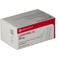 Lisinopril Al 20 mg Tabletten