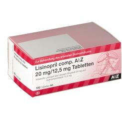 Lisinopril comp. AbZ 20/12,5 mg Tabletten
