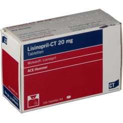 Lisinopril- Ct 20 mg Tabletten