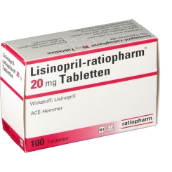 Lisinopril ratiopharm 20 mg Tabletten