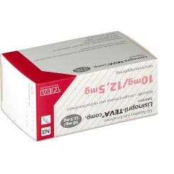 Lisinopril Teva Com 10/12,5 Tabletten