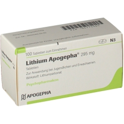 Lithium Apogepha Tabl.