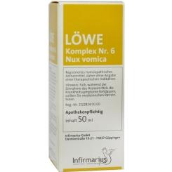 LÖWE-Komplex Nr. 6 Nux vomica Tropfen