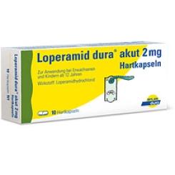 Loperamid dura® akut 2mg