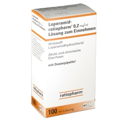 LOPERAMID ratiopharm 0,2 mg/ml Lsg.z.Einnehm.