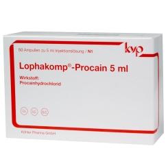 LOPHAKOMP Procain 5 ml Injektionslösung