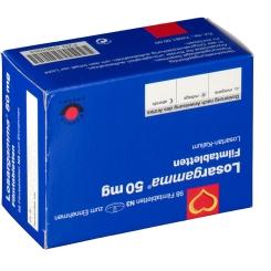 LOSARGAMMA 50 mg Filmtabletten