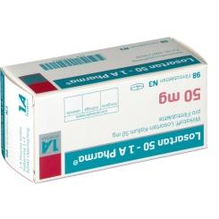 Losartan 50 1 A Pharma Filmtabletten