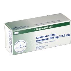 LOSARTAN comp. Heumann 100mg/12,5mg Filmtabletten