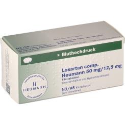 LOSARTAN comp. Heumann 50mg/12,5mg