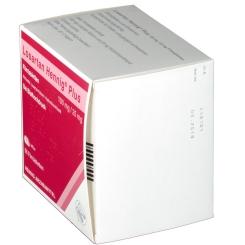 LOSARTAN Hennig Plus 100mg/25mg Filmtabletten