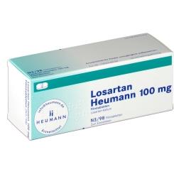 LOSARTAN Heumann 100mg Filmtabletten
