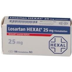 LOSARTAN HEXAL 25mg