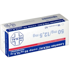Losartan Hexal Comp 50/12,5 Filmtabletten