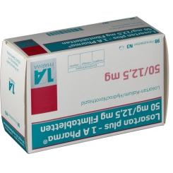 LOSARTAN plus 1A Pharma 50/12,5mg